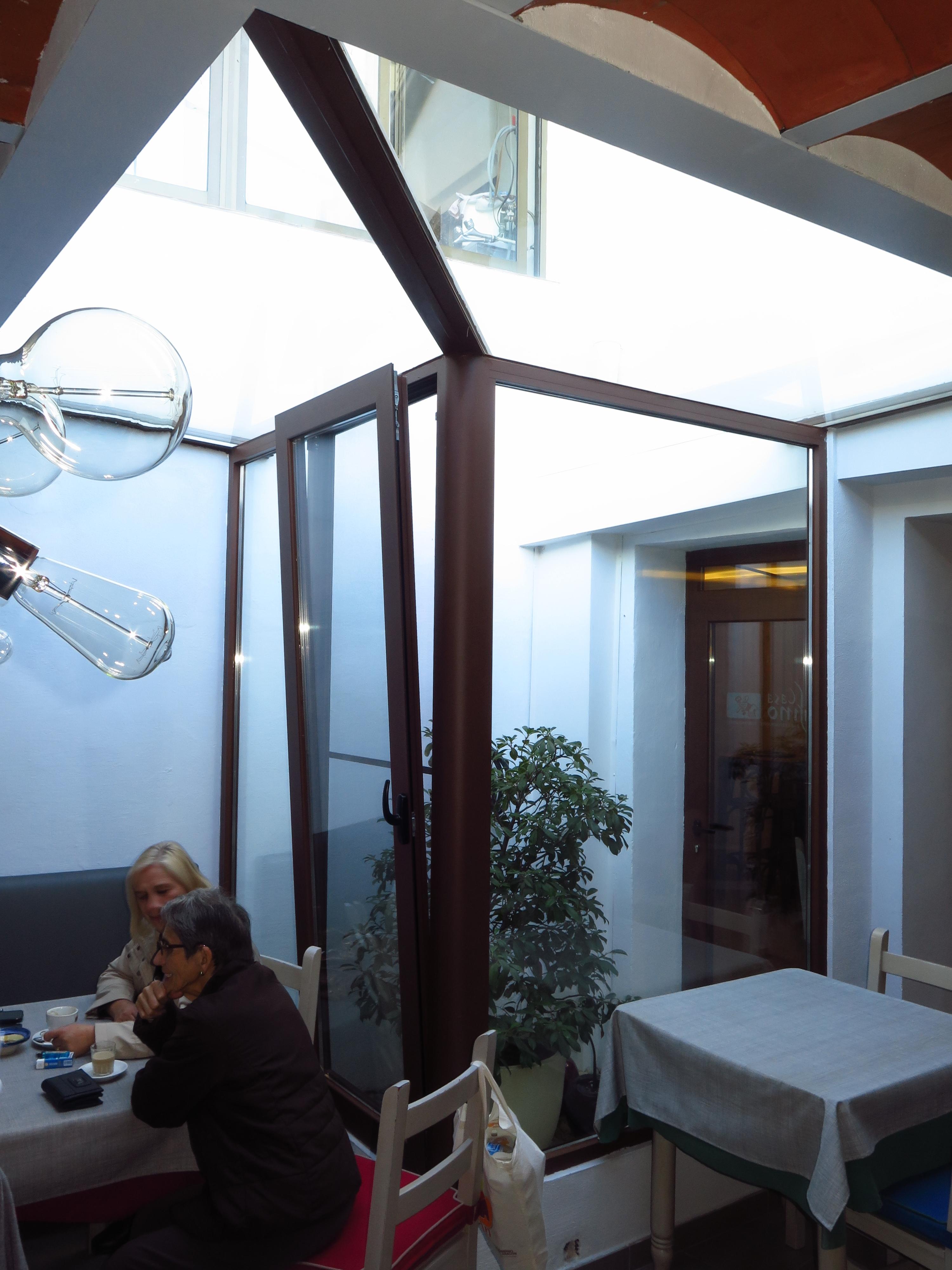 Terraza Cubierta Con Aluminio Y Cristal Talleres Usieto