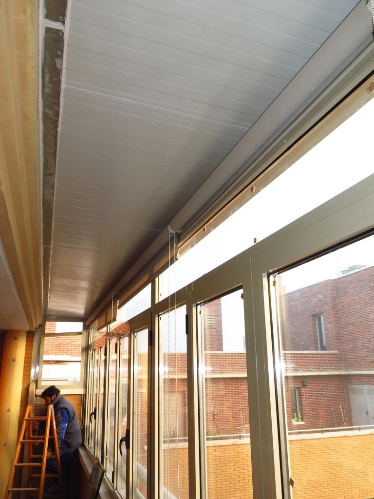 Cerramiento de terraza ventanales cubierta y canal - Cubiertas de cristal para terrazas ...