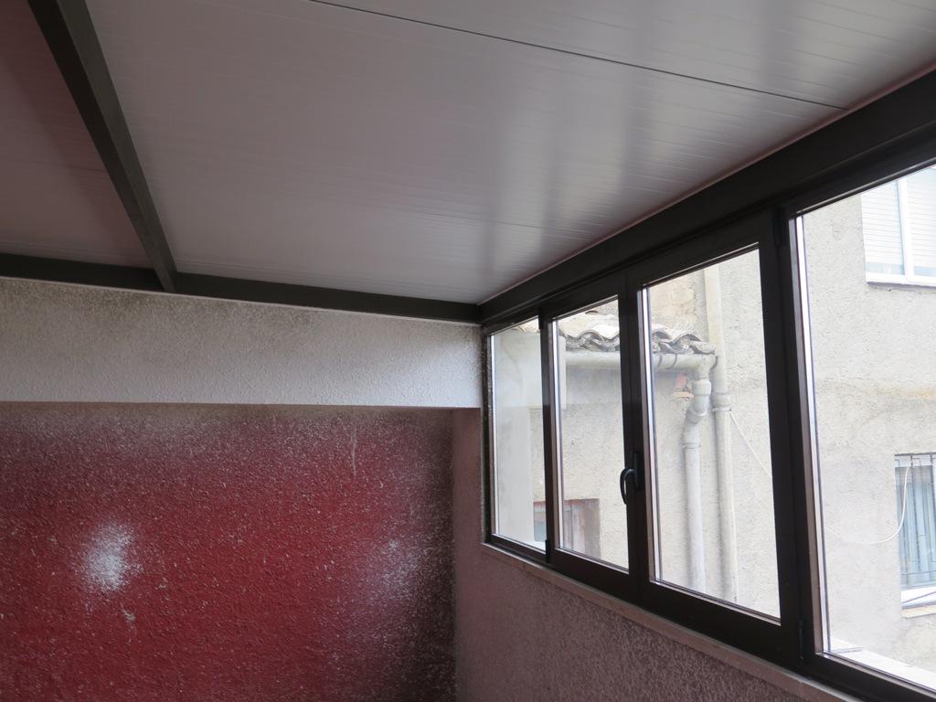 Cerramiento de terraza en casa particular talleres usieto - Cubiertas para terrazas ...