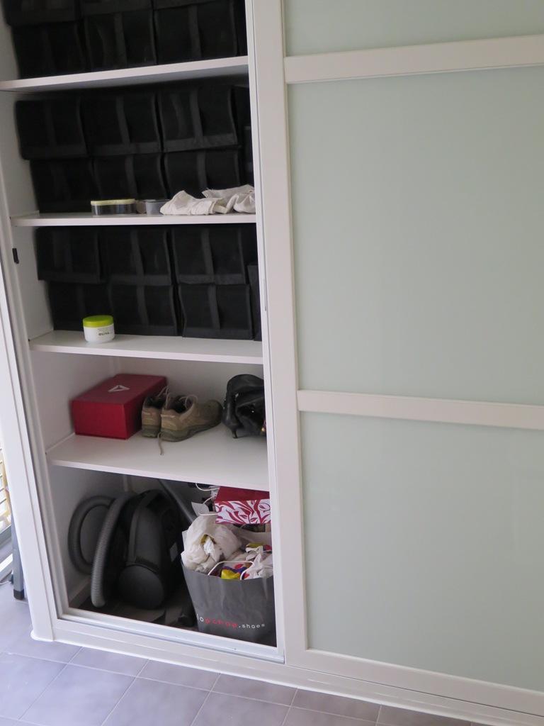 Mueble exterior para lavadora cool simple simple diy for Zapatero para exterior